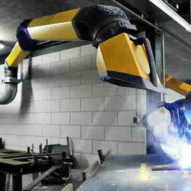 Welding fume extraction and filtration