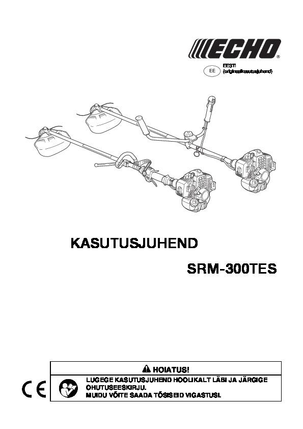 SRM-300TES kasutusjuhend