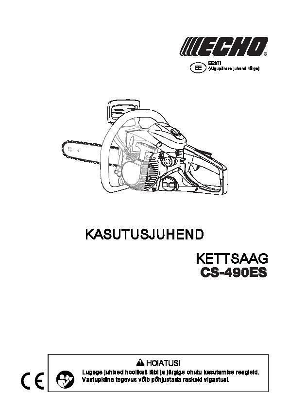 CS-490ES-kasutusjuhend