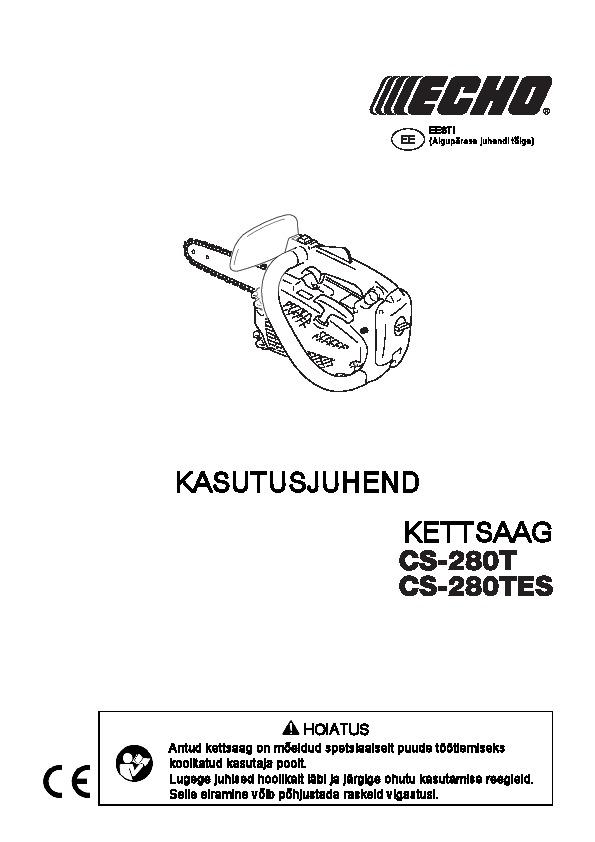 CS-280TES-kasutusjuhend