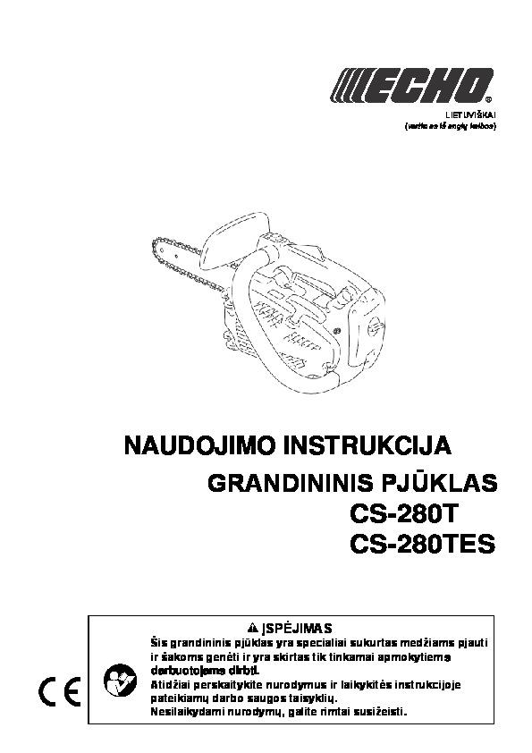 Grandininis_pjūklas_ECHO CS-28
