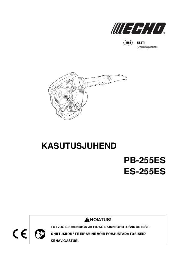 ES-255ES-kasutusjuhend