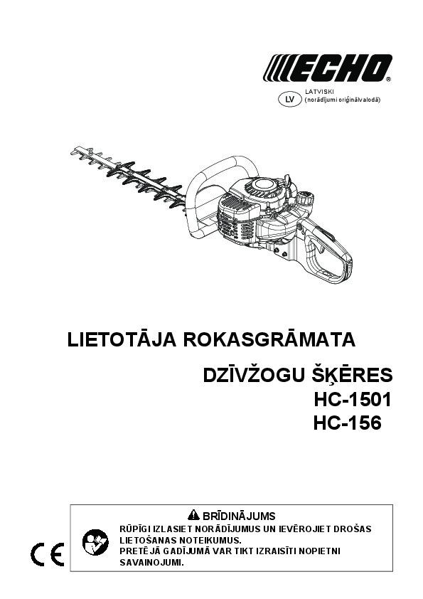 HC-1501 Lietoshanas Instrukcij
