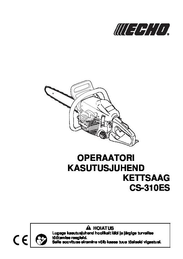 CS-310ES-kasutusjuhend