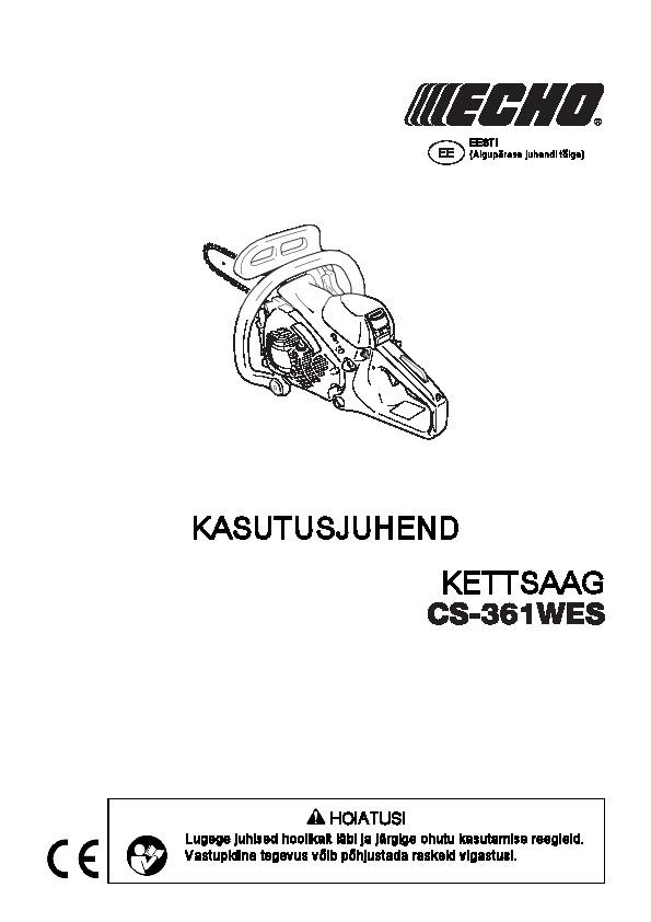 CS-361WES-kasutusjuhend