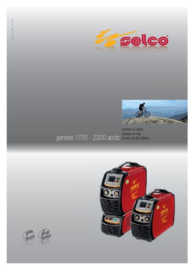 Genesis 1700 2200 AC/DC ENG