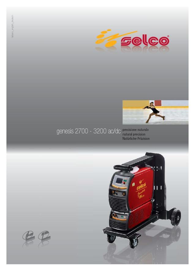 Genesis 2700 3200 AC/DC