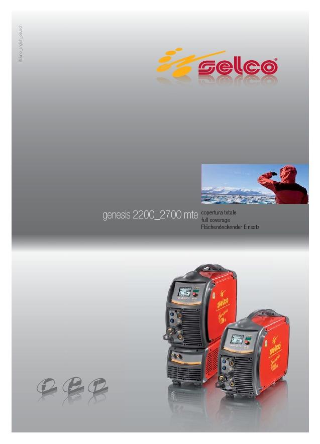 Genesis 2200 2700 MTE
