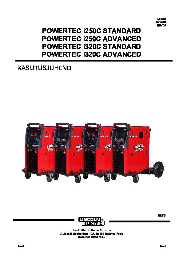 Powertec i250, EE