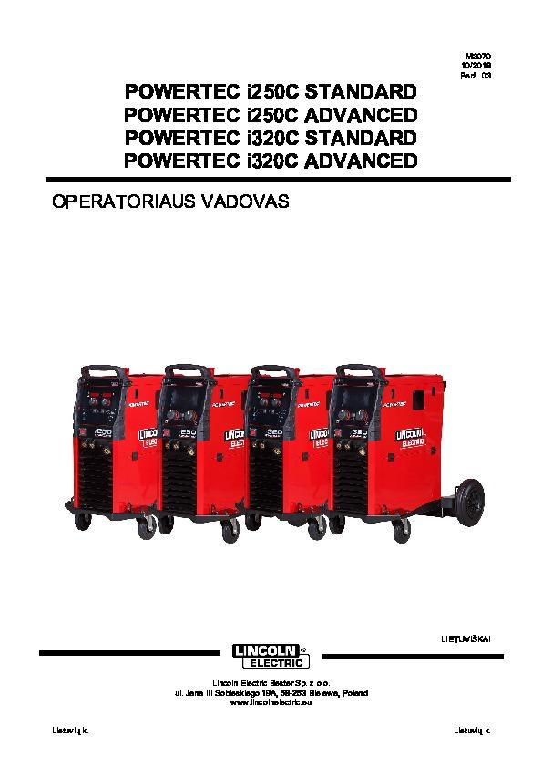 Powertec i250, LT