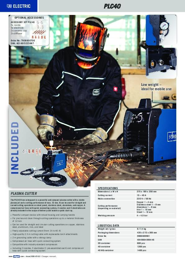 Brochure PLC 40_gb