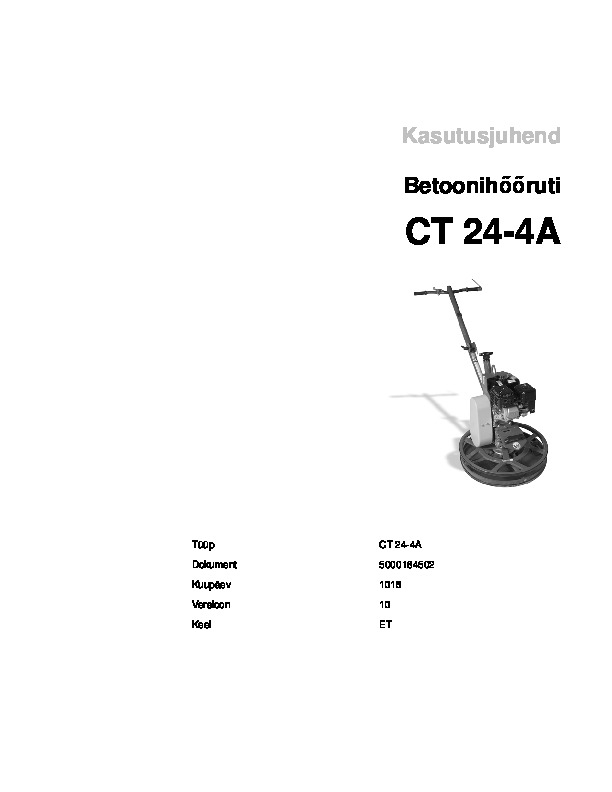 Operating Manual_CT24_4A_EE
