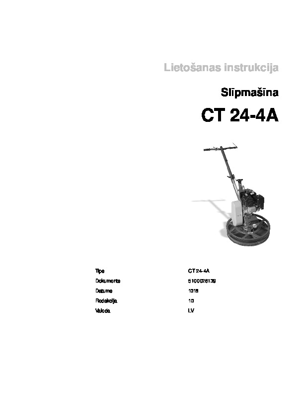 Operating Manual_CT24_4A_LV