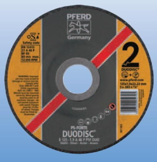 DUODISC PS-FORTE STEEL