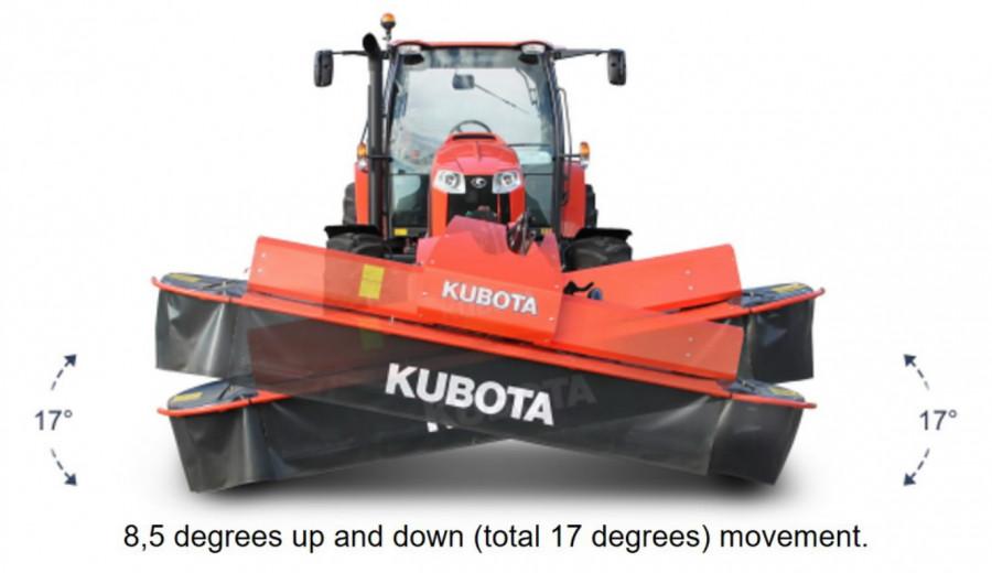 Esiniiduk  DM 4032 Express, Kubota