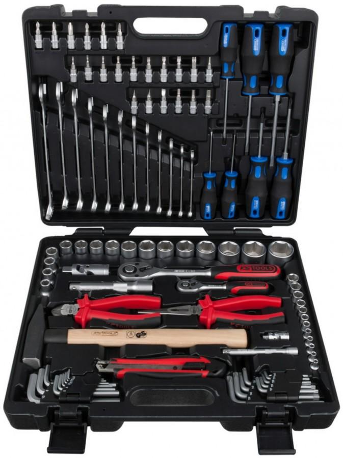 1/4´´-1/2´´  tööriista kmpl, 97 -osa, KS Tools