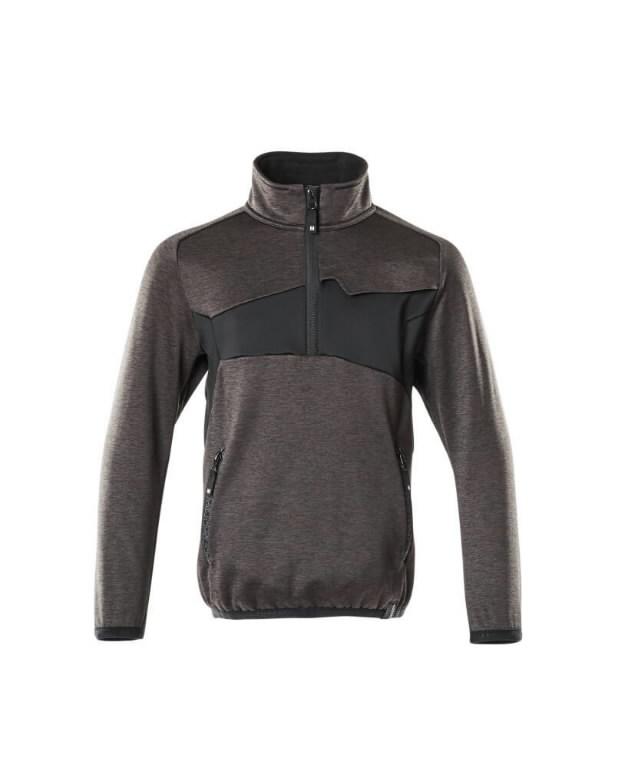 Flīsa džemperis bērniem Accelerate, tumši pelēks/melns 116, Mascot