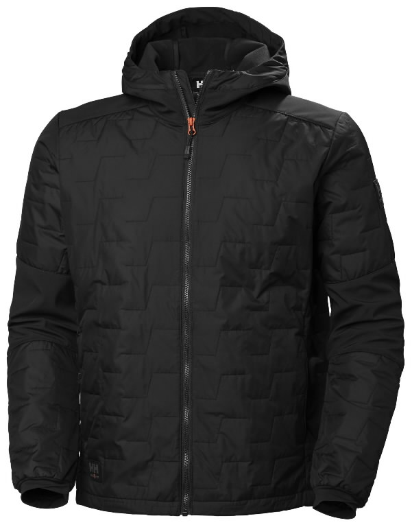 Jacket hooded Kensington Lifaloft, black L, Helly Hansen WorkWear