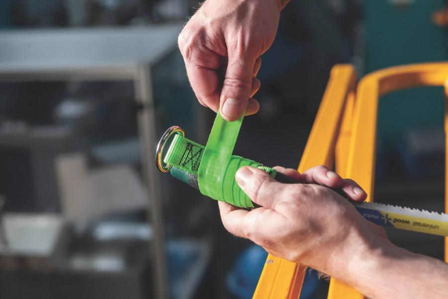 Tööriista turvarihm D-rõngaga, kuni 3 kg 10 tk, Metabo