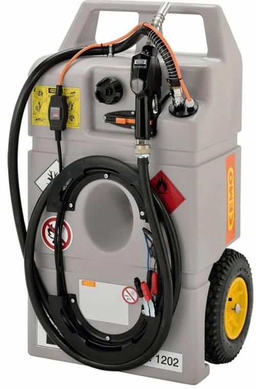 Mobile Fuel Tank System 100l 12v Elpump Cemo Diesel Petrol