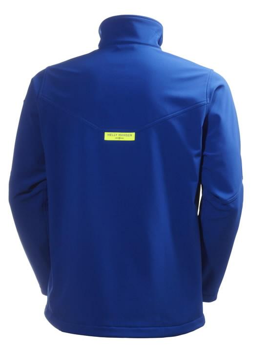 Softshell jakk Aker, sinine 3XL