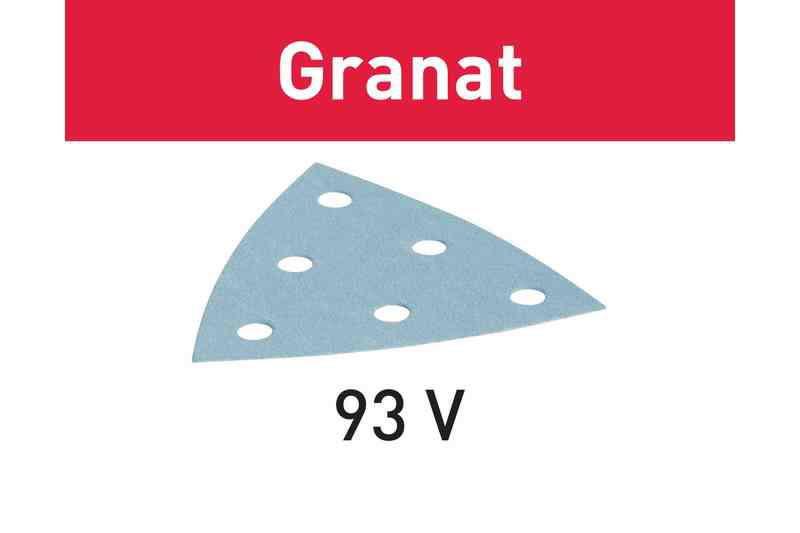 Lihvpaberid GRANAT / V93/6 / P100 / 100tk, Festool