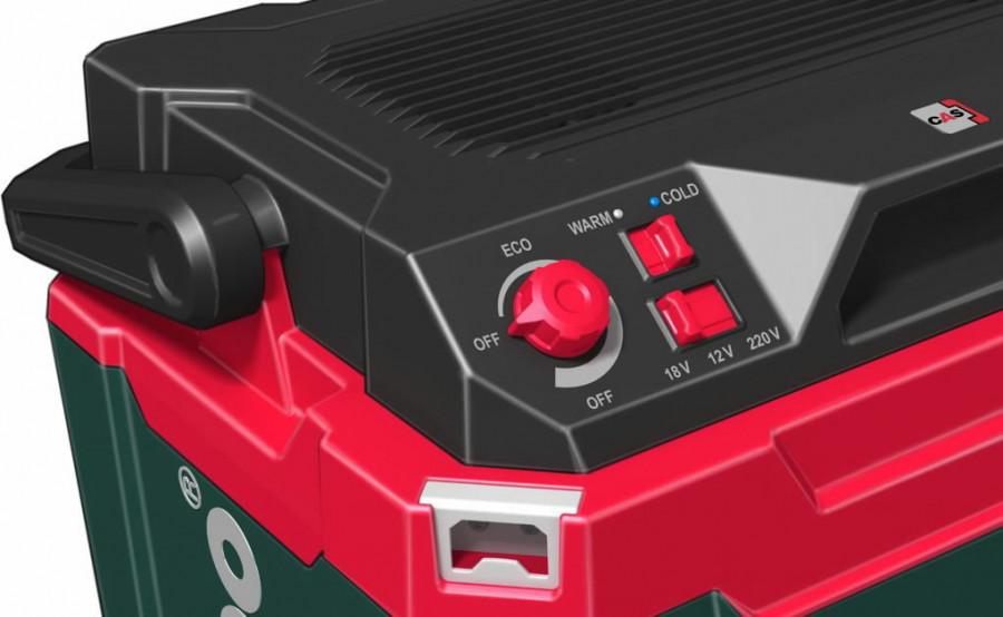 Akumulatora ledusskapis KB 18 BL, karkass, Metabo