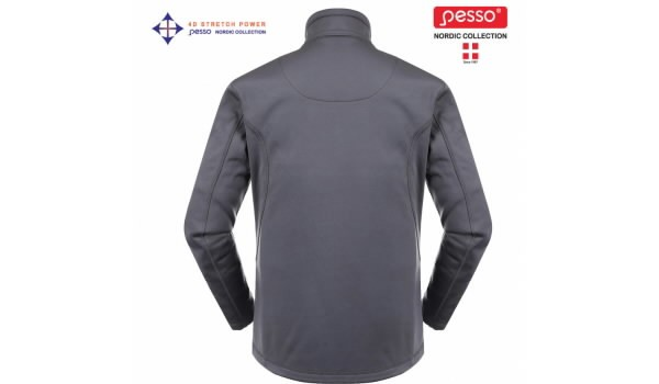 Džemperis  DZP725P pilka 2XL, Pesso