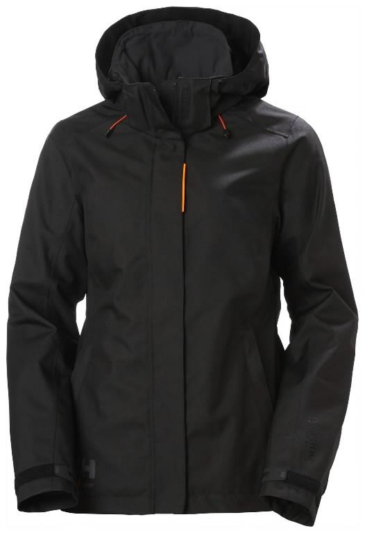 Jacket Luna hooded, women, black M, Helly Hansen WorkWear