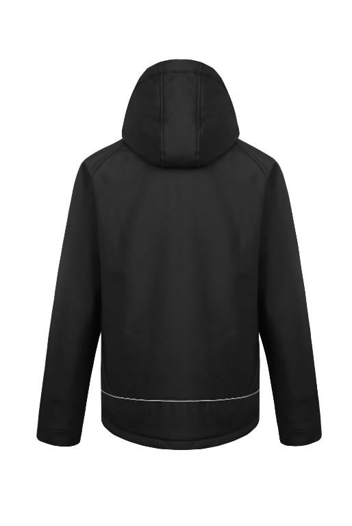 Winter softshell jacket Otava, black L, Pesso