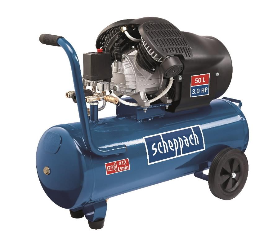 Kompressor HC 53dc / 50L, Scheppach