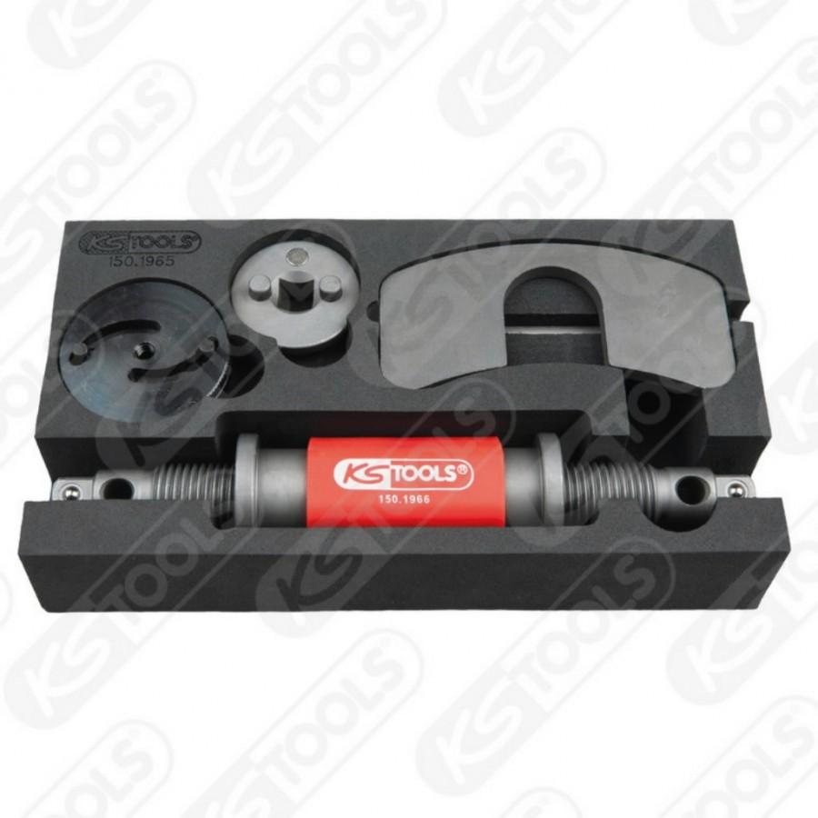 Universal brake piston re setter tool set, 4 pcs, KS Tools -