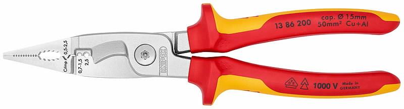 Elektriku näpitslõikurid VDE 200mm, Knipex