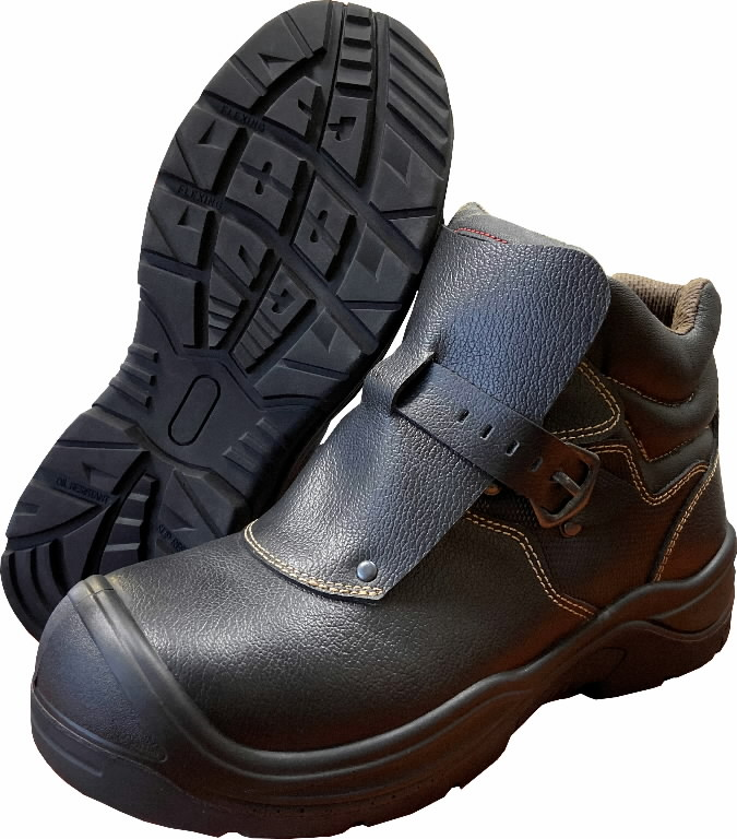 Safety boots for welders Weld S3, black 47, Pesso