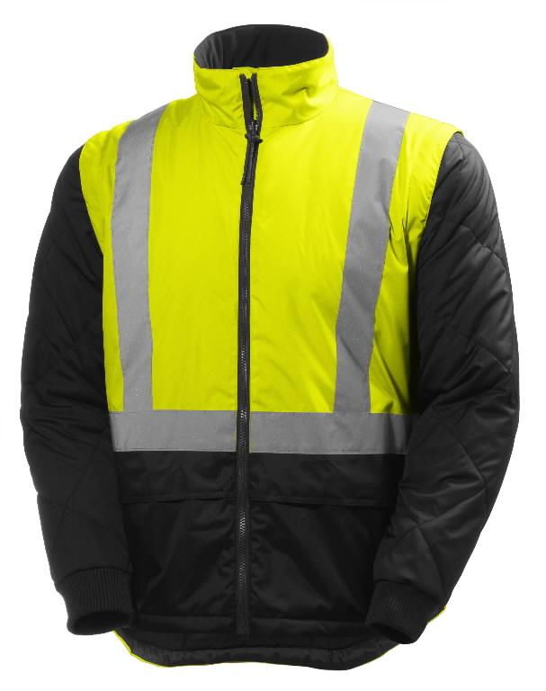 Talvejope Alta CIS 4-in-1 kõrgnähtav CL3, kollane/must 4XL, Helly Hansen WorkWear