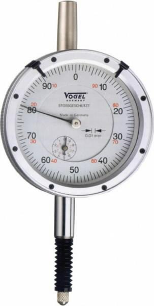 Indikaatorkell 0-3x0,01 mm, õli-, vee- ja põrutuskindel, Vögel