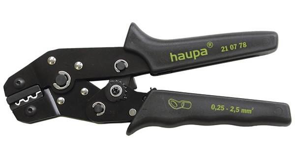 Kaabli kingapress S 0,25-2,5 mm², Haupa