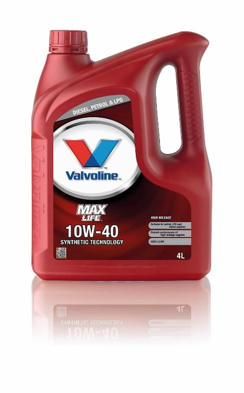 Mootoriõli MAXLIFE 10W40 4L, Valvoline