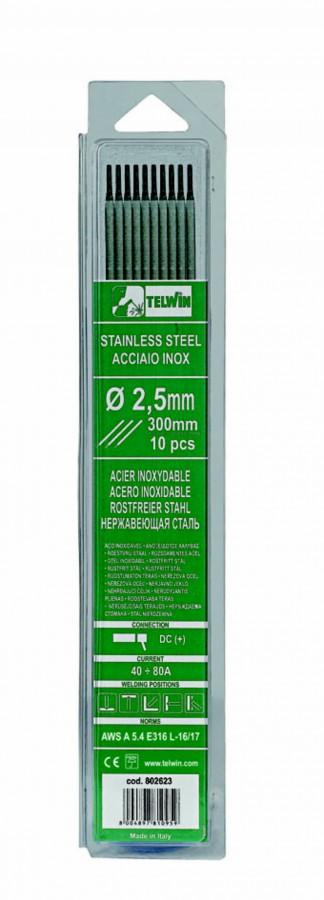 Keevituselektrood Inox 2,5x300mm 10tk, Telwin