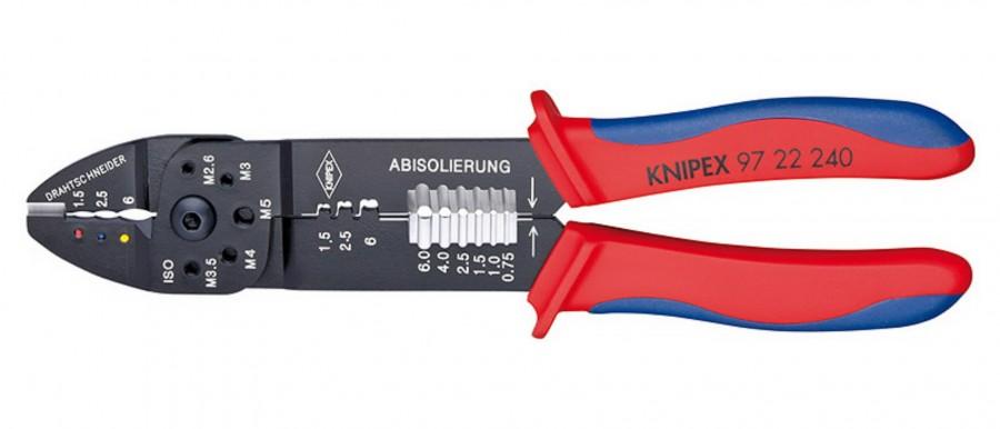 Klemmitangid 0,5-6mm, Knipex