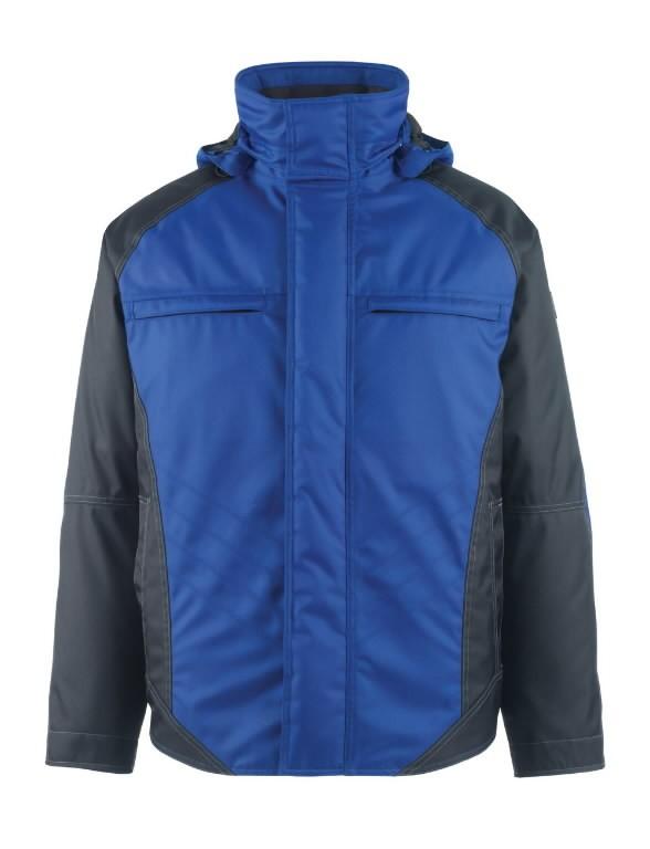 Žieminė striukė su gobtuvu Frankfurt mėlyna/t.mėlyna 3XL