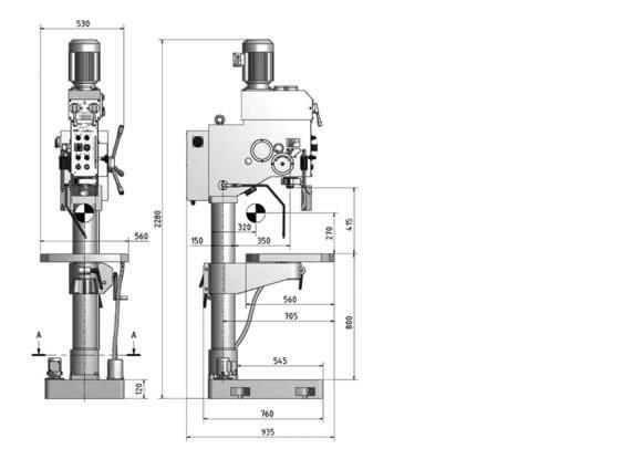 Puurpink OPTIdrill B 40GSM 400V, Optimum