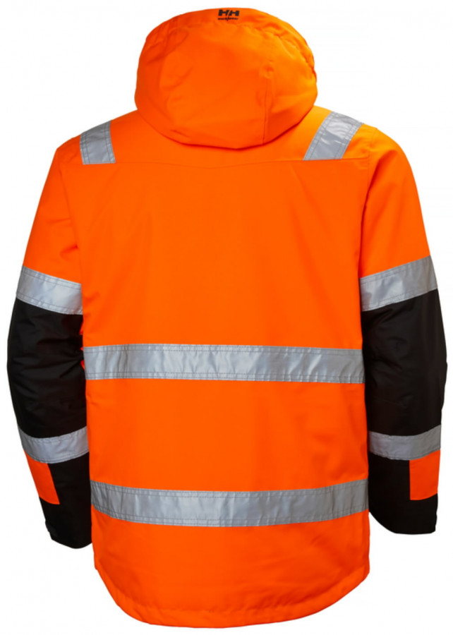 Koorikjope Alna kõrgnähtav CL3, oranz/must XL, Helly Hansen WorkWear