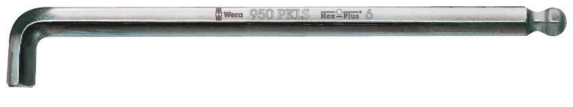L-kuuskant  5,0x160mm 950PKLS, Wera