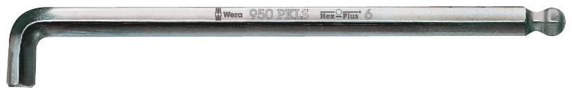 L-kuuskant  8,0x200mm 950PKLS, Wera