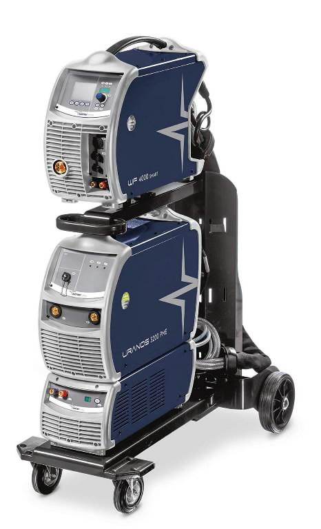 MIG suvirinimo aparatas Uranos 3200 PME, pulse, Böhler Welding