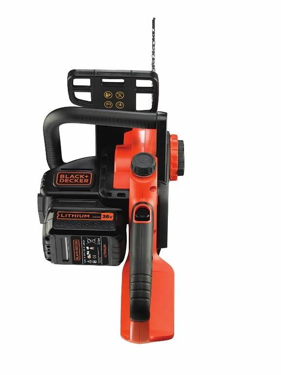 Akuga kettsaag GKC3630L20 / 36 V / 30 cm, ilma aku/laadijata, Black+Decker