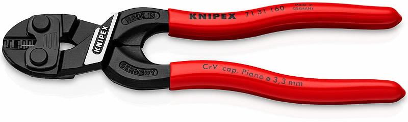 Poldikäärid 160mm COBOLT S Compact  D5,3mm, avaga terad, Knipex