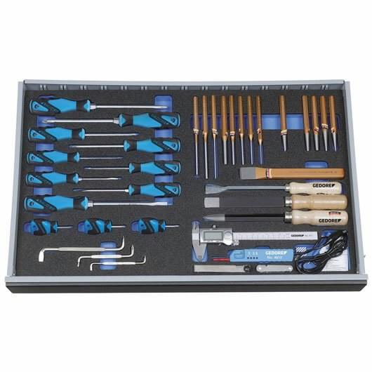Moodul tööriistadega 2005 CT4-2160-19 37-osa, Gedore