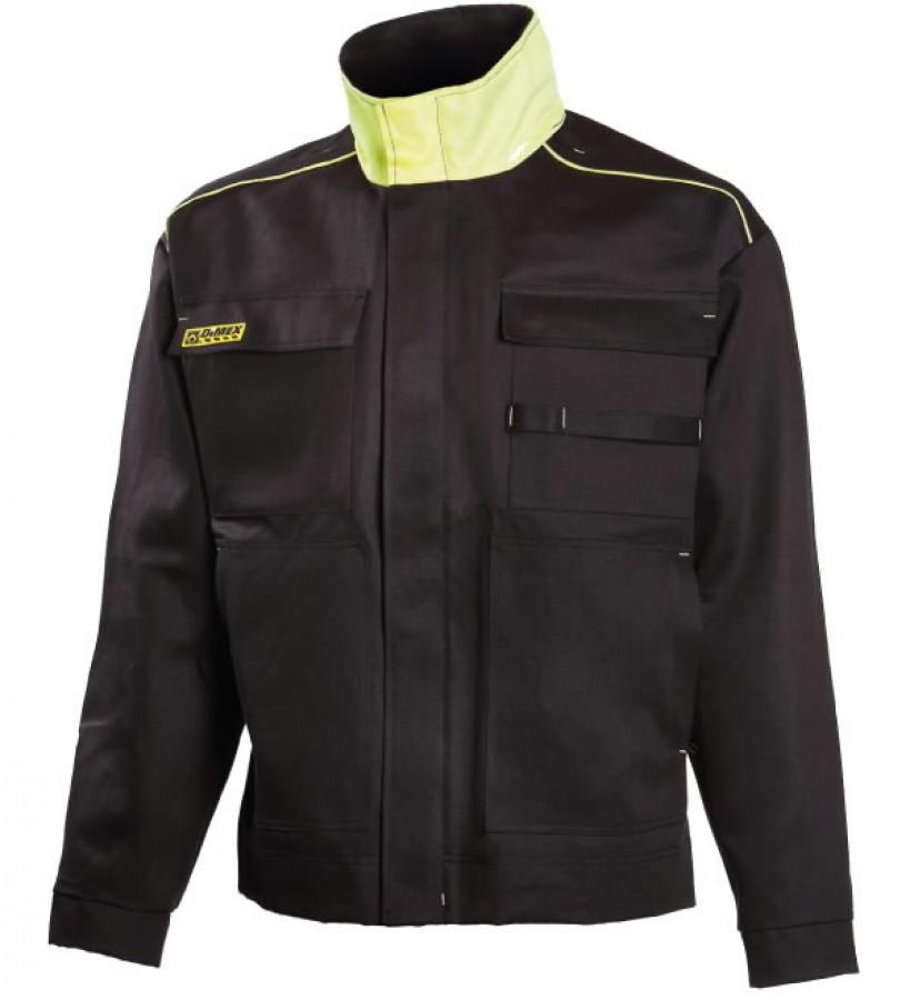 Jacket for welders  644 black/yellow 3XL, Dimex